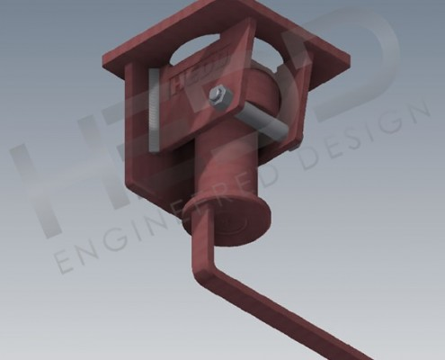 long handle truck twist lock