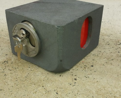 secure shipping container lock